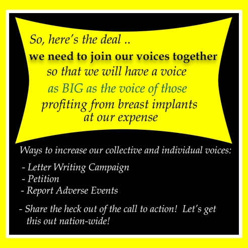 Our BIG COLLECTIVE VOICE 1