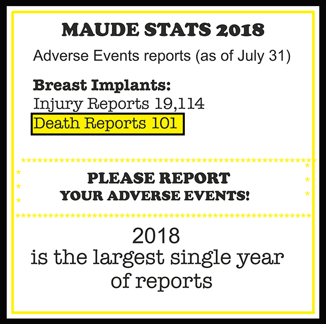 2018 MAUDE STATS BORDER RS