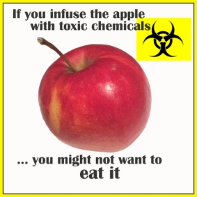 Infuse apple w chemicals rs